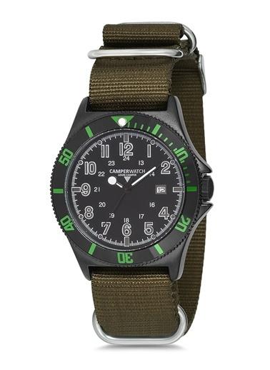 Camper Watch Saat Yeşil